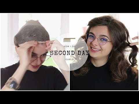 Second Day Curls | How I Make Curls Last Through The Night