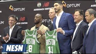 Kemba Walker Introduced As Boston Celtics New Point Guard