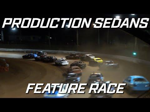 Production Sedans: IBRP Series - A-Main - Maryborough Speedway - 25.09.2021 - dirt track racing video image
