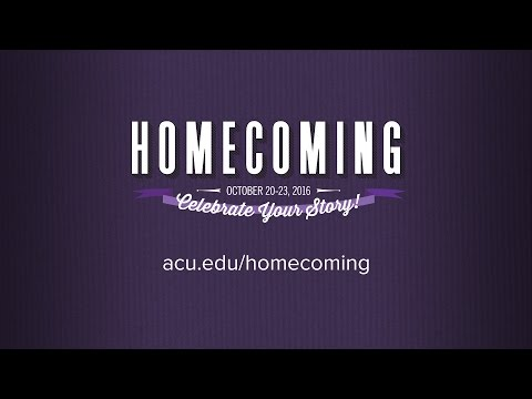 Homecoming 2016 - Celebrate Your Story