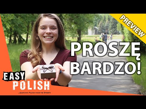 8 Ways to Use the Word PROSZĘ in Polish (PREVIEW) | Super Easy Polish 15 photo
