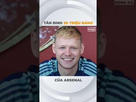 Tân binh 30 triệu bảng của Arsenal   Troll Bóng Đá #Shorts