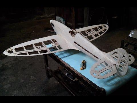 Scratch Build Spitfire mk ix Balsa Kit and Flight - UCTHCgAzueKirjjMofQYCYlA