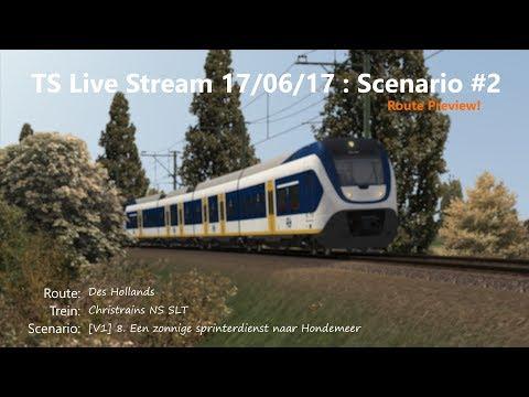 [V1] 8. Een zonnige sprinterdienst naar Hondemeer (Livestream 17/06/17)