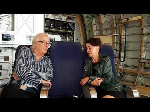 Im Gespräch: Stefanie Carp und Ueli Jäggi