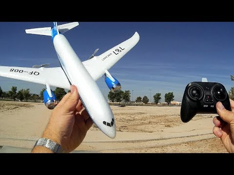 QF008 Boeing 787 3 Channel RC Flying Scale Model Flight Test Review - UC90A4JdsSoFm1Okfu0DHTuQ