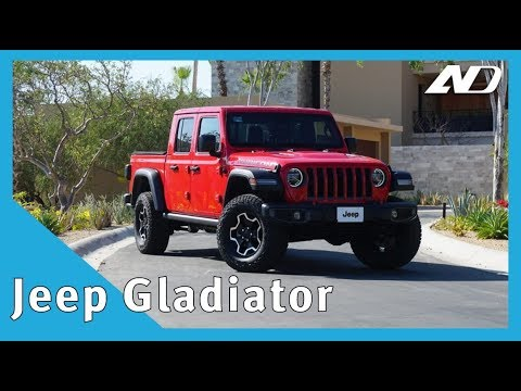 "Jeep Gladiator - ¿La mejor pick-up del mercado"" - Primer Vistazo"