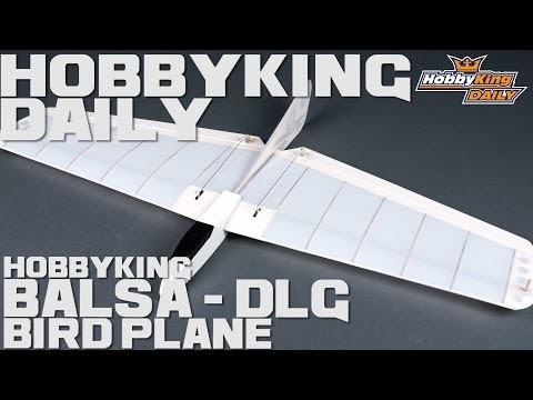 HobbyKing Daily - HK Bird Plane Balsa DLG - UCkNMDHVq-_6aJEh2uRBbRmw