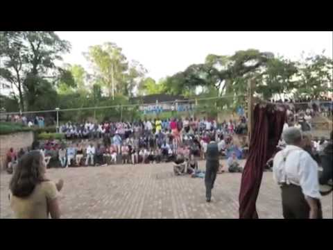 Video of the events during the show in Butare.