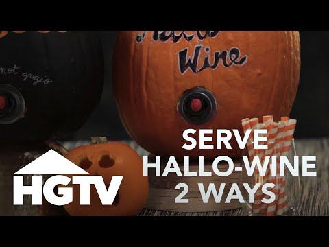 Hallo-wine 2 Ways - HGTV