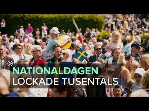 Kungälv - Nationaldagen 2017 lockade tusentals
