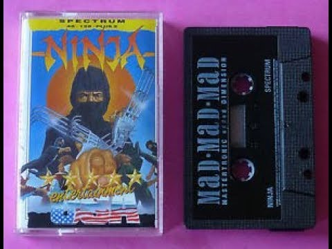 Grandes Decepciones: Ninja (Entertainment USA/M.A.D Mastertronic) Spectrum