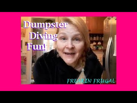 DUMPSTER DIVING ~ FREE FOOD FREE CLOTHES ~ FUNNY FUN FASHION SHOW ~WATCH TIL THE END & LAUGH! #free