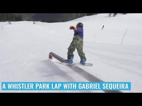 A Whistler Park Lap With Gabriel Sequeira