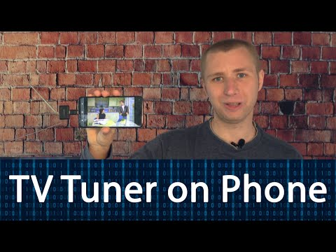 Turn Your Smartphone into a Digital TV Tuner with Antenna!