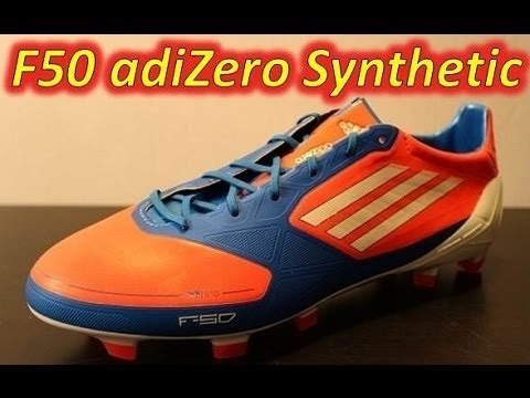 new style 2c9f1 0820d Video Adidas F50 adizero miCoach Synthetic Infrared Bright Blue Running  White (Euro 2012)
