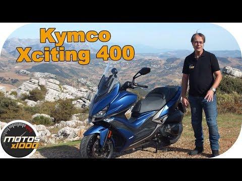 Presentación Kymco Xciting S 400 |Motosx1000