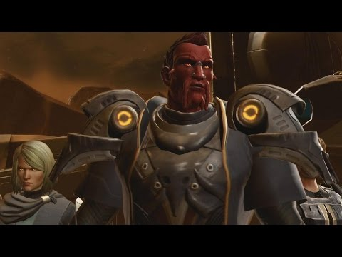 Star Wars The Old Republic: It's a Trap Gameplay From Knights of the Eternal Throne