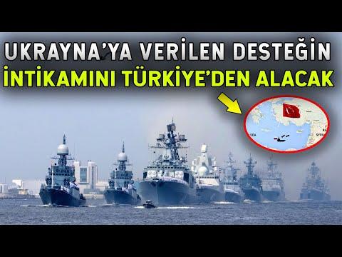 Putin'den Türkiye'ye Karşı Hamle! Akdeniz'e İniyor