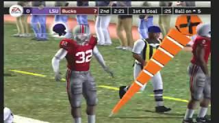 (2007 LSU Tigers vs 2007 Ohio State Buckeyes) (NCAA Football 2007) PS2