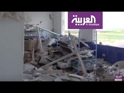 غارات جوية تواصل إخراج المشافي الميداني عن الخدمة في إدلب