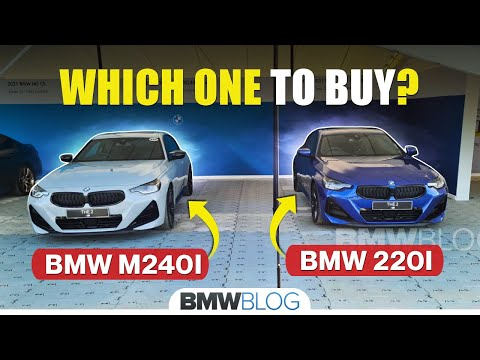 2022 BMW 2 Series in Brooklyn Gray and Portimao Blue | BMW M240i and 220d Coupe