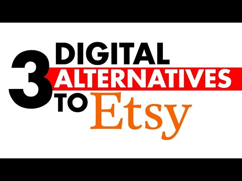 3 Alternatives to Selling Digital Files on Esty