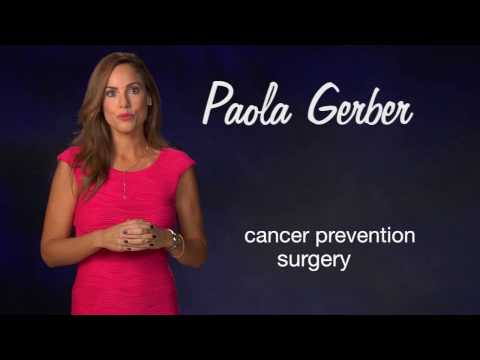 Paola Gerber: Baylor reduced my risk for breast cancer. (Plano 30)