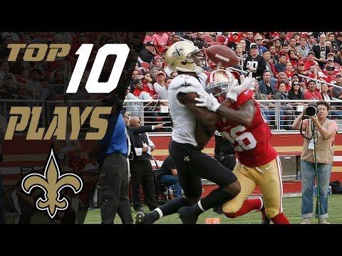 Saints Top 10 Plays of the 2016 Season | NFL Highlights