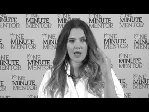 Hearst One Minute Mentor: Drew Barrymore on Team Building