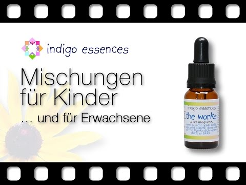 Indigo Essences: Mischungen für Kinder