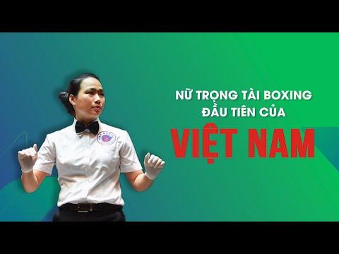 Nữ trọng tài boxing đầu tiên của Việt Nam | VTV24