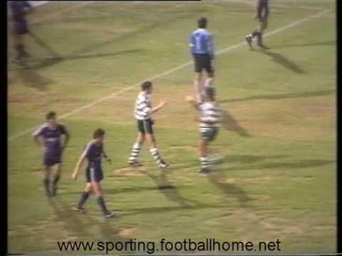 Sporting - 4 x Etar (Bulgária) - 0 de 1991/1992 Particular
