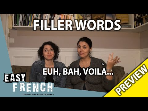 Filler words in French (Trailer) | Super Easy French 66 photo