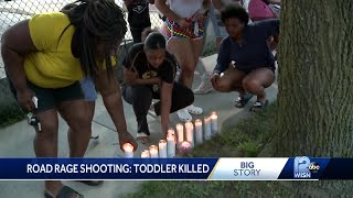 Community calls for end of violence after 3-year-old's shooting death