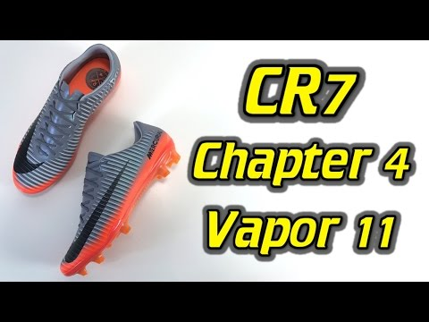 CR7 Nike Mercurial Vapor 11 (Chapter 4: Forged for Greatness) - One Take Review + On Feet - UCUU3lMXc6iDrQw4eZen8COQ