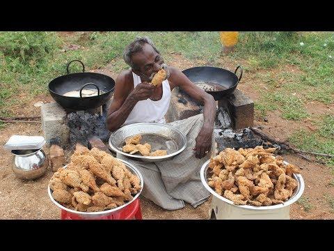 KFC Chicken / 100 Legs / 100 Wings / Prepared by my DADDY / Village food factory - UC-j7LP4at37y3uNTdWLq-vQ
