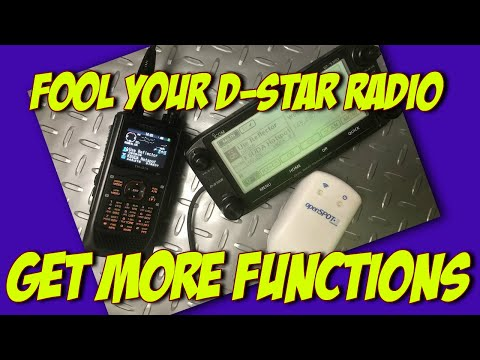 Tricking your D74 or other Dstar Ham Radio for more features