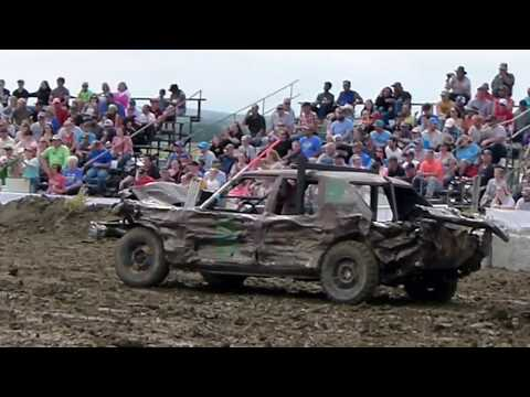 Winner Demolition Derby 2018 Limited Weld Heat 1