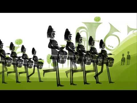 Musikkorpsenes år - Animasjonsfilm 3min