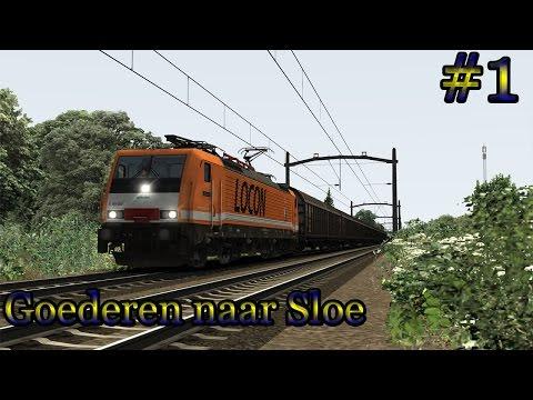 Cargo naar Sloe (BR 189 Locon) - Train Simulator 2017 (Livestream #1)
