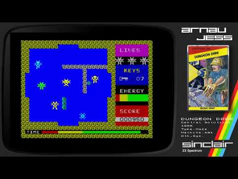 DUNGEON DARE Zx Spectrum by Central Solutions UK