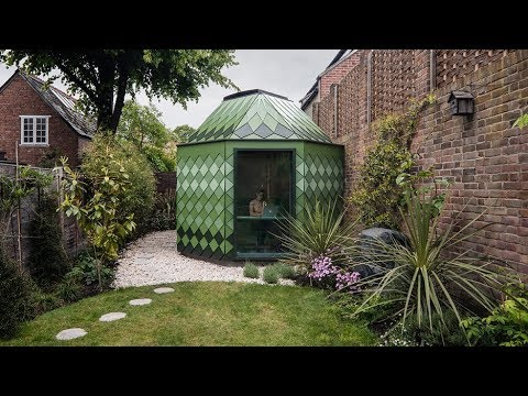 Studio Ben Allen designs artichoke-shaped garden room