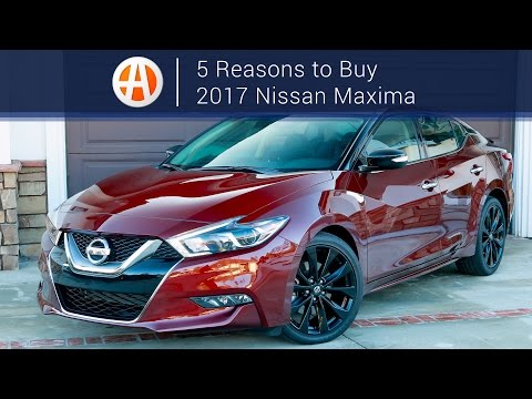 2017 Nissan Maxima   5 Reasons to Buy   Autotrader