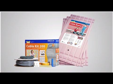 Ebeco Cable Kit -Lattialämmitys