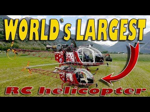WORLD`s LARGEST SA315B Lama RC helicopter - UCdA5BpQaZQ1QUBUKlBnoxnA