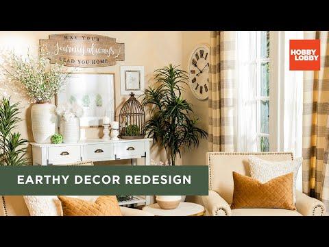 Earthy Decor Redesign | DIY Room Makeover | Hobby Lobby®