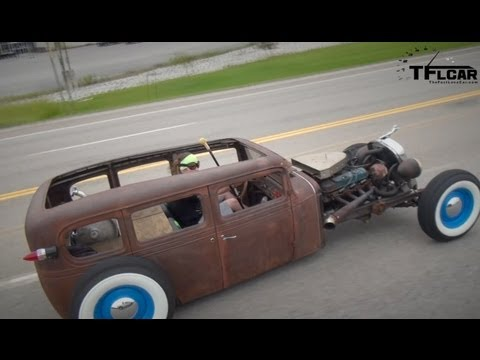 Classics Revealed: 1932 Chevy All American Rat Rod - romanmicagearguy