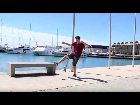 Freestyle Longboarding in Valencia with Original Skateboards