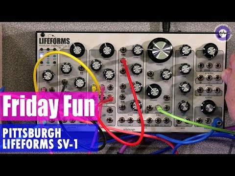 Friday Fun - Synth Jam Pittsburgh Modular SV-1 Synth Jam